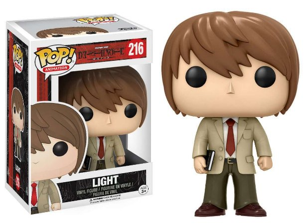 Funko Pop Death Note Light #216