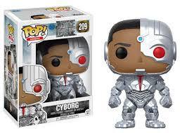 Funko Pop DC Liga a Justiça Cyborg #209