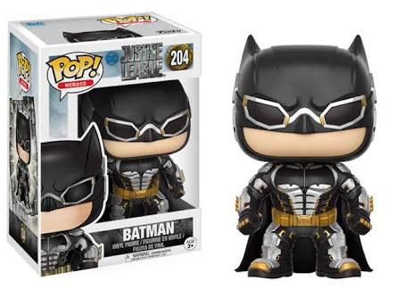 Funko Pop Liga da Justiça Batman #204
