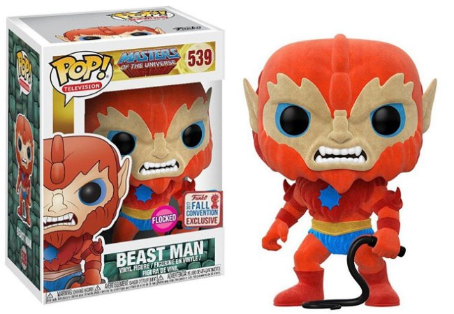 Funko Pop Masters of the Universe Beast Man Flocked Exclusivo NYCC #359