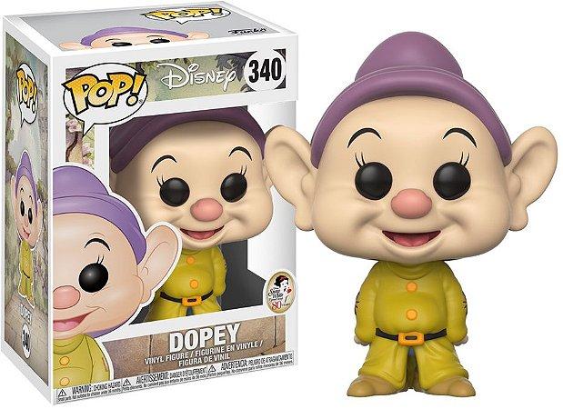 Funko Pop Disney Branca de Neve Anão Dopey Dunga #340