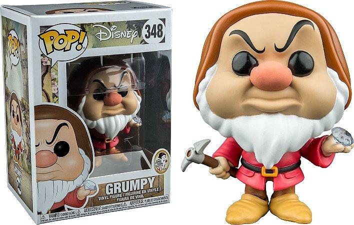 Funko Pop Disney Branca de Neve Anão Zangado Grumpy Exclusivo Bam! #348
