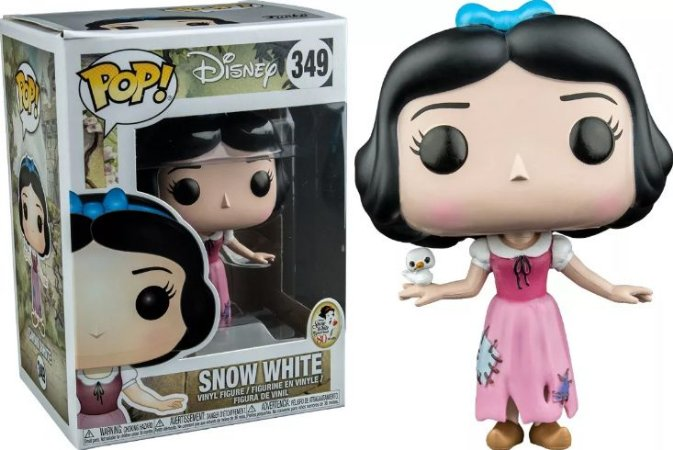 Funko Pop Disney Branca de Neve e the Seven Dwarfs #349