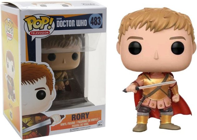 Funko Pop Doctor Who Rory Exclusivo #483