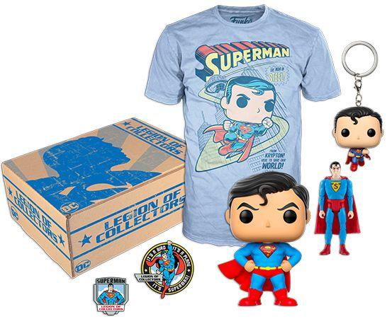 Funko Box Legion of Collectors Superman