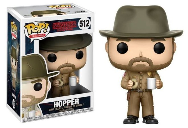 Funko Pop Stranger Things Hooper #512