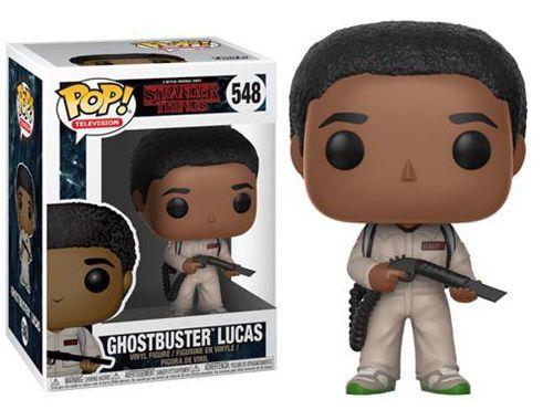 EM BREVE! Funko Pop Stranger Things Ghostbuster Lucas #548