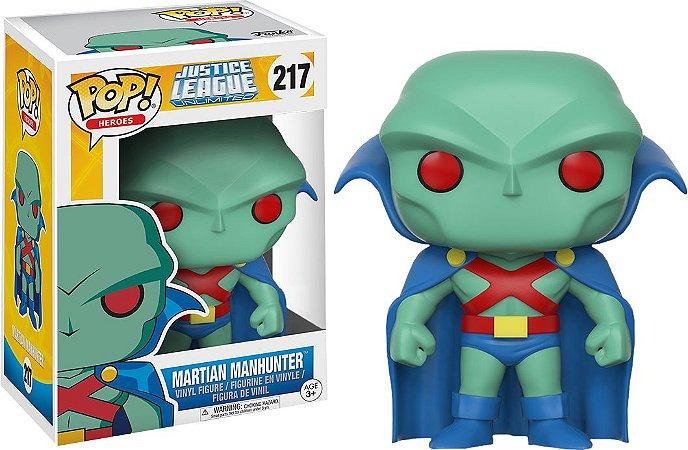 Funko Pop DC Liga da Justiça Martian Manhunter Exclusivo #217