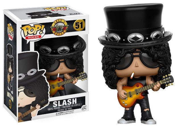 Funko Pop Guns N Roses Slash #51