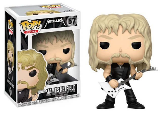 Funko Pop Metallica James Hetfield #57