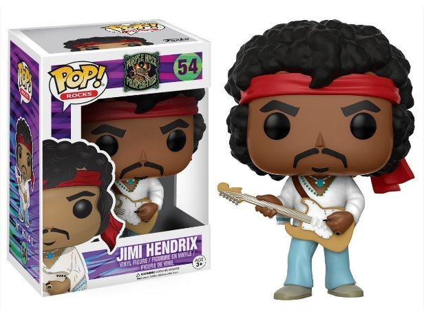 Funko Pop Jimi Hendrix #54