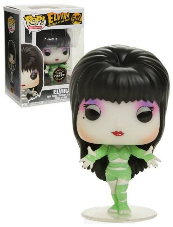 Funko Pop Elvira Mistress of the Dark Mummy Glow Chase #542