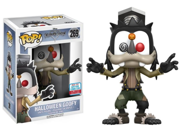 Funko Pop Disney Kingdom Hearts Halloween Pateta Nycc #269