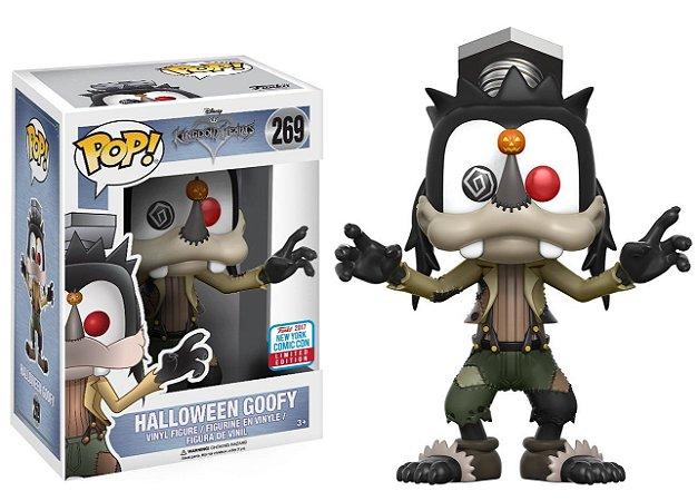 Funko Pop Disney Kingdom Hearts Halloween Pateta Goofy Nycc #269