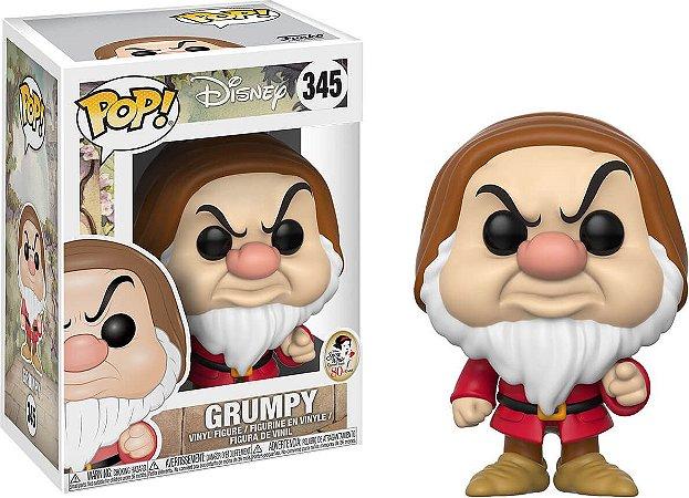 Funko Pop Disney Branca de Neve Anão Zangado Grumpy #345