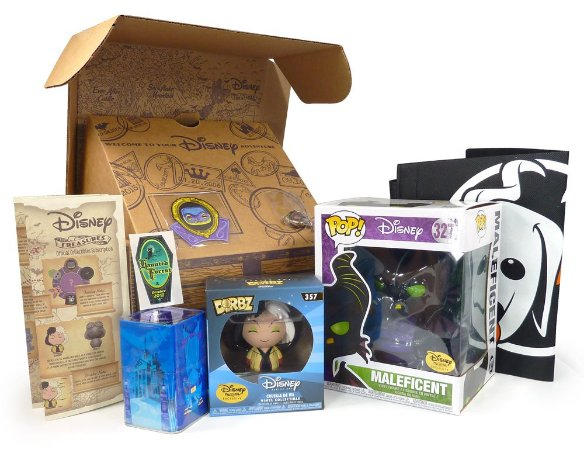 Funko Box Disney Treasures Haunted Forest