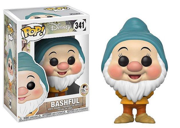 Funko Pop Disney Branca de Neve Anão Dengoso Bashful #341