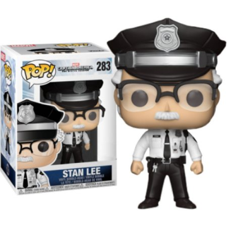 Funko Pop Marvel Stan Lee Capitão América The Winter Soldier #283