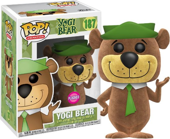 Funko Pop Hanna Barbera Yogi Bear Ze Colmeia Flocked Exclusivo #187