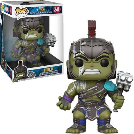 Funko Pop Marvel Thor Ragnarok Hulk Super Size #241