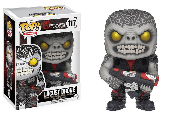 Funko Pop Gears of War Locust Drone #117