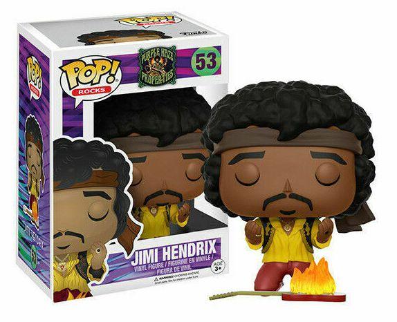 Funko Pop Jimi Hendrix Monterey Exclusivo #53