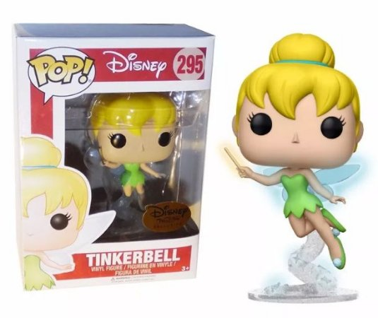 Funko Pop Disney Tinkerbell Sininho Exclusiva Treasures #295