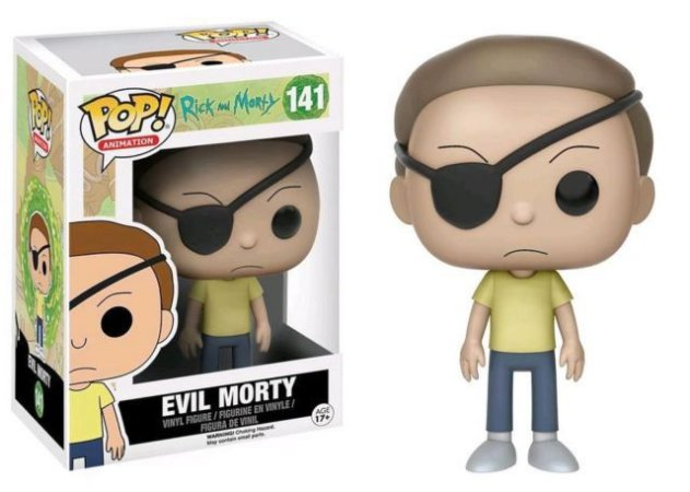 Funko Pop Rick E Morty - Morty Exclusivo #141