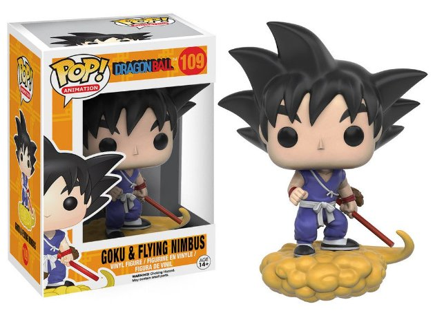 Funko Pop Dragon Ball Z Goku Flying Nimbus #109