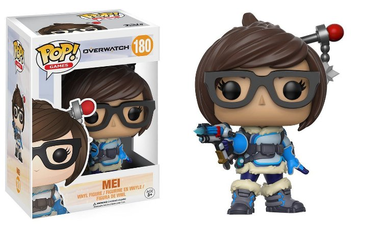 Funko Pop Overwatch Mei #180