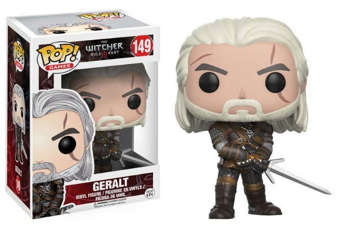Funko Pop The Witcher Wild Hunt Geralt #149
