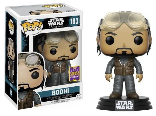 Funko Pop Star Wars Rogue One Bodhi Exclusivo SDCC 17 #183