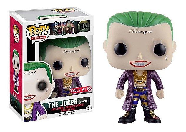 Funko Pop DC Suicide Squad The Joker Coringa Boxer Exclusivo Target #104