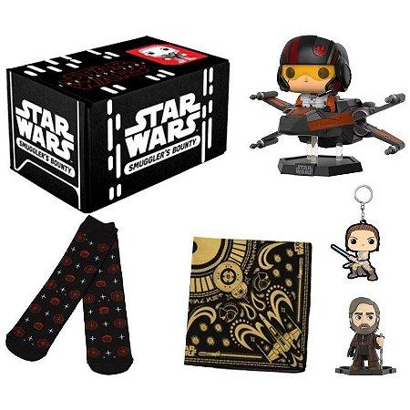 Funko Box Star Wars Último Jedi Exclusivo Smugglers Bounty
