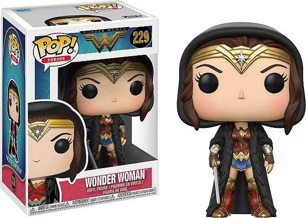Funko Pop Dc Wonder Woman Cloaked #229