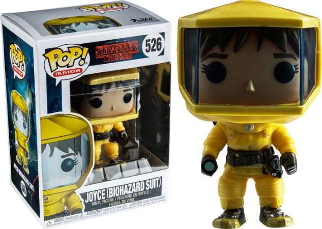 Funko Pop Stranger Things Joyce Biohazard Suit #526