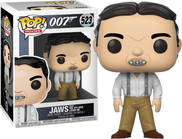 Funko Pop 007 James Bond Jaws from Spy Who Loved #523