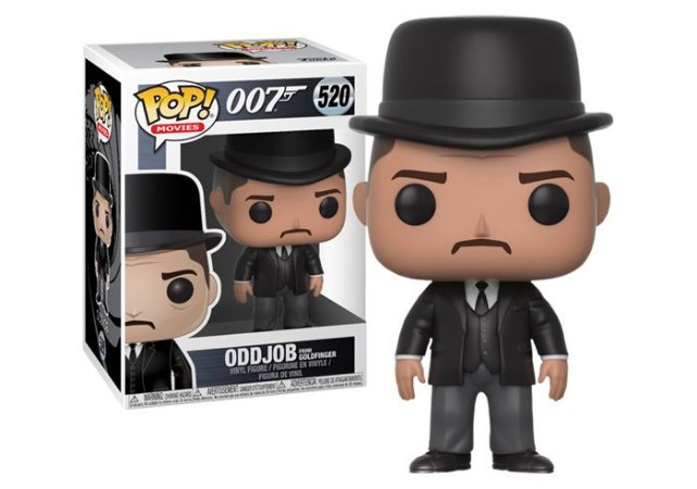 Funko Pop 007 Oddjob From Goldfinger #520