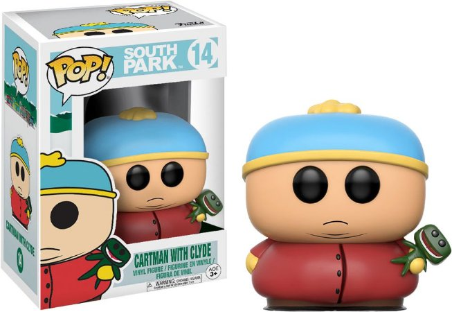Funko Pop South Park Cartman With Clyde Exclusivo #14