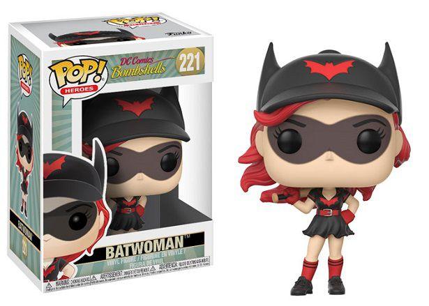 Funko Pop DC Comics Bombshells Batwoman #221