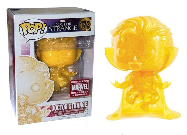 Funko Pop Marvel Doctor Strange Exclusivo Collector Corps #173
