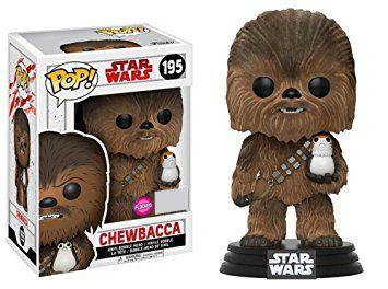 Funko Pop Star Wars Chewbacca Flocked Exclusivo #195