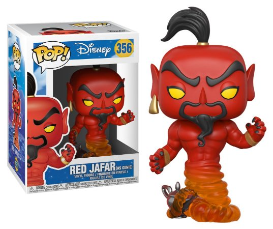 Funko Pop Disney Aladim Red Jafar #356