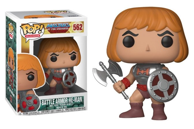 Funko Pop Masters of Universe He-man Battle Armor #562
