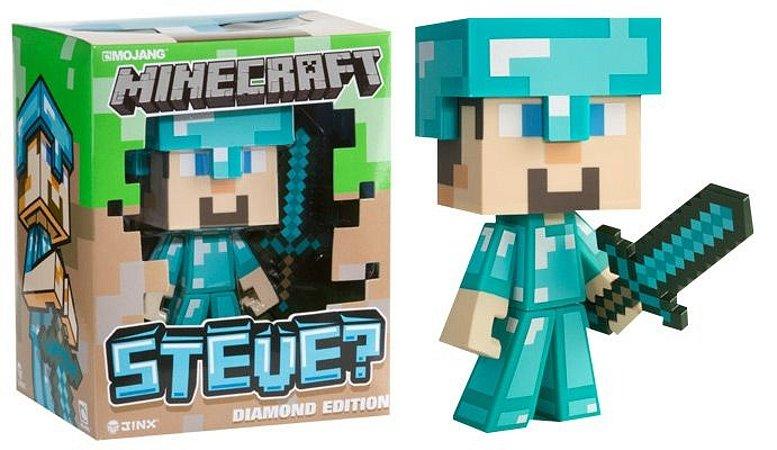 Minecraft Steve Diamond Edition Vinil