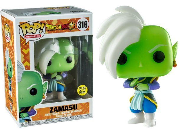 Funko Pop Dragon Ball Super Zamasu Glows Exclusivo #316