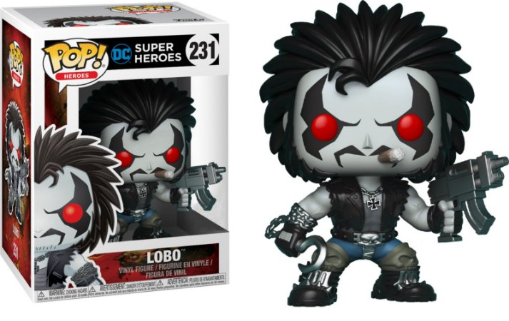 Funko Pop DC Lobo Exclusivo #231
