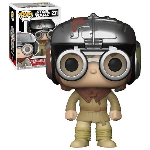 Funko Pop Star Wars Young Anakin Skywalker Exclusivo #231