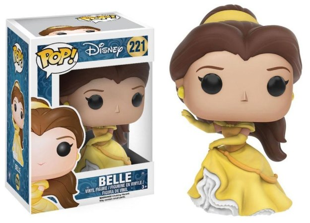 Funko Pop Disney A Bela e a Fera - Belle #221