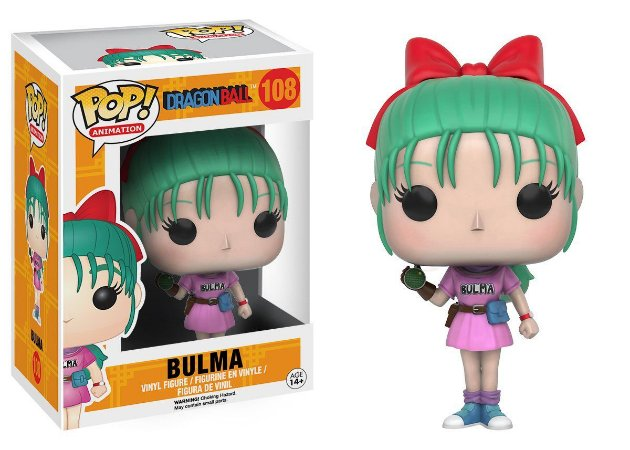 Funko Pop Dragon Ball Z Bulma #108